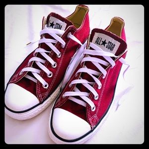 Red Converse All Star Sneakers Size Men 7/ women 9